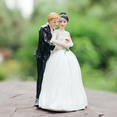 Sweet Love Figurine Resin Cake Topper