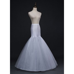 Women Tulle Netting/Polyester 2 Tiers Petticoats (037169090)
