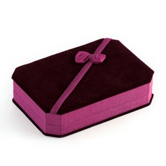 Lovely Velvet Ladies' Jewelry Box (051041848)