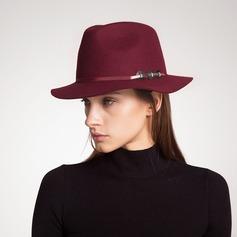 Dames Betoverend/Elegant/Eenvoudig Wol Slappe Hat