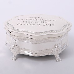 Personalized Delicate Zinc Alloy Jewelry Holders (Personalized information is only English)