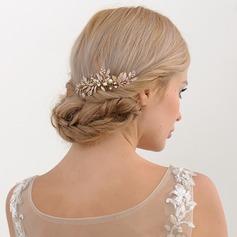 Damen Schöne Legierung Kämme und Haarspangen mit Strass (In Einem Stück Verkauft)