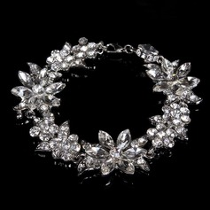Shining Rhinestones With Crystal Ladies' Bracelets