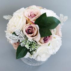 Bonito Redondo Buquês de noiva - Buquês de noiva