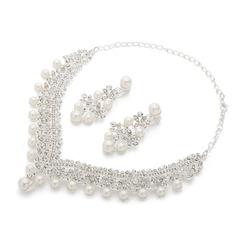 Magnifique Alliage/Pearl Dames Parures (011062891)