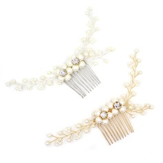 Elegant Alloy Combs & Barrettes (Sold in single piece) (042138654)