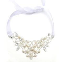 Damer Glamorøse Imitert Perle Pannen Smykker med Venetianske Perle (Selges i ett stykke)