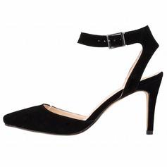 Женщины Замша Высокий тонкий каблук На каблуках Закрытый мыс обувь