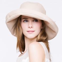 Dames Élégante/Simple/Jolie/Style Vintage Coton Disquettes Chapeau