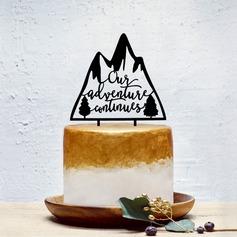 Estilo clásico Acrílico Decoración de tortas
