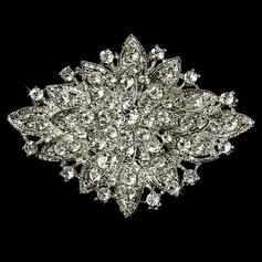 Magnífico Aleación/Diamantes de imitación con Rhinestone Señoras' Broche