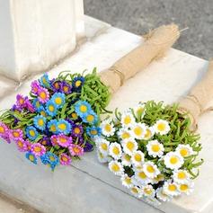 прекрасный Свободной формы ткань Свадебные букеты -