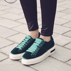 De mujer Ante Tipo de tacón Planos Plataforma Cuñas zapatos