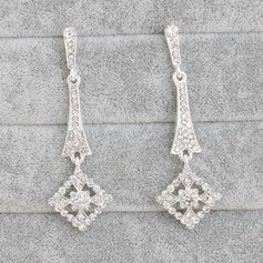 Attractive Alloy With Rhinestone Women's/Ladies' Earrings