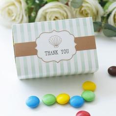 Cubic Karton Papier Geschenkboxen (Satz von 12)