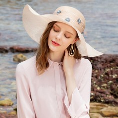 Ladies' Simple/Nice Cambric Beach/Sun Hats
