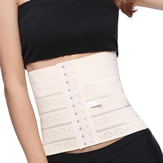 Mulheres Clássico Poliéster Respirabilidade Cintura Alta Cintura Cinchers Cintas