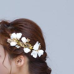 Filles Charme Alliage Fleurs et plumes