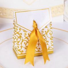 Autre Carte papier Boîtes cadeaux avec Rubans (Lot de 12)