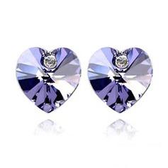 Unique Alloy With Crystal Ladies' Earrings/Stud Earrings