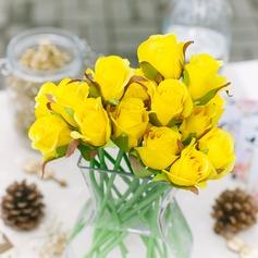 Färgglada Duk Blomma (Säljs i ett enda stycke)