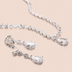 Charming Zircon Jewelry Sets For Bride For Bridesmaid For Mother For Friends