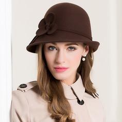 Damer' Glamorösa/Enkel/Enastående/Nice Ull Diskett Hat