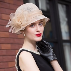 Señoras' Único Batista Bombín / cloché Sombrero/Derby Kentucky Sombreros