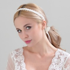 Ladies Amazing Imitation Pearls Headbands With Venetian Pearl (Sold in single piece)