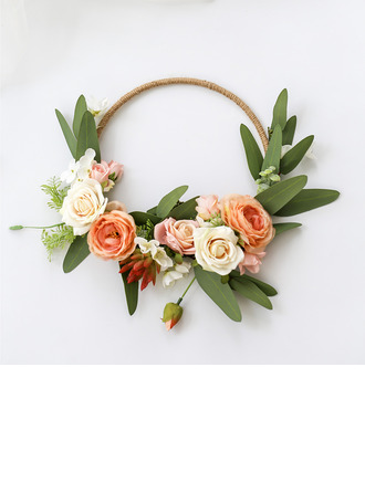 Anhänger Rund Simulation Beeren/Seide Blumen/Kunststoff Brautsträuße/Dekorationen -
