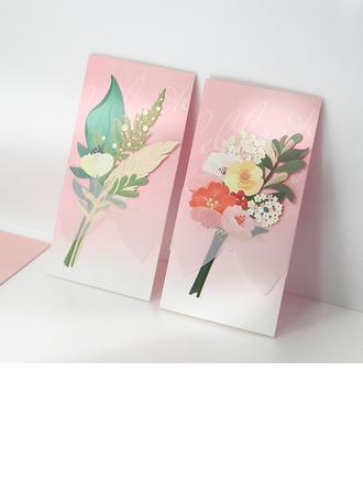 Personlig Klassisk stil/moderne stil Side Fold Invitasjonskort/Bursdagskort/Svar Kort/Takkekort/Gratulasjonskort (Sett Av 50)