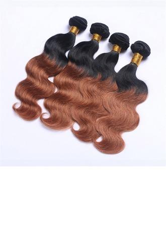 5A Virgin / remy Cuerpo Cabello humano Postizo de cabello humano (Vendido en una sola pieza) 100g