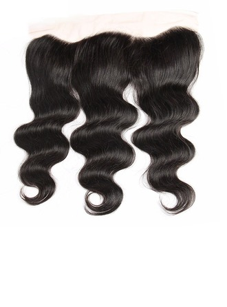 """13""""*4"""" 4A Body Human Hair Closure (Sold in a single piece)"""