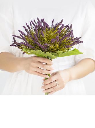 Flores de seda/Plástico Ramos de la dama de honor/Decoraciones (vendido en una sola pieza) -
