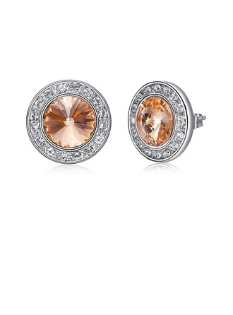 Ladies' Elegant Crystal/Copper Crystal Earrings For Bride/For Bridesmaid/For Mother/For Friends/For Her