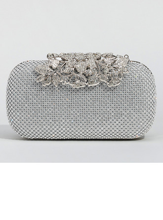 Encanto Cristal / Diamante Bolso Claqué/Bolso de Mano/Mochila