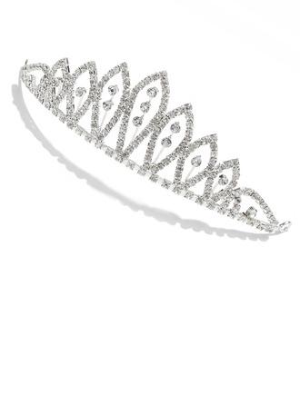 elegante rhinestone tiara / Copricapo