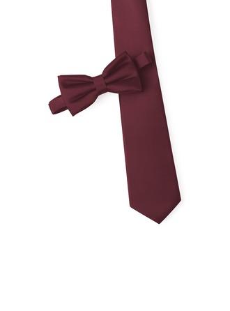 Klassische Art Krawatte Fliege satin