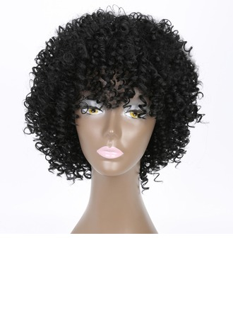 Kinky Curly Synthetic Hair Synthetic Wigs 200g