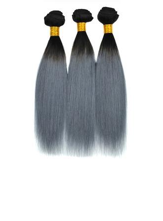 4A Tout droit les cheveux humains Tissage en cheveux humains (Vendu en une seule pièce)