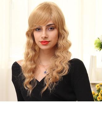 Body Wavy Long Human Hair Wigs