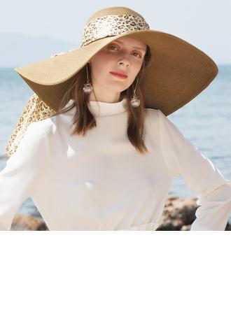 Dames Simple/Gentil Papyrus Chapeaux de plage / soleil