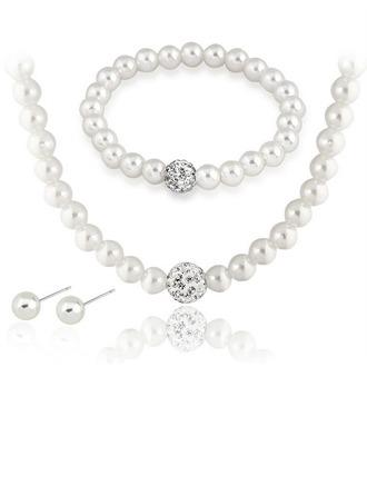 Maravilloso con Perlas de imitación Señoras' Sistemas de la joyería