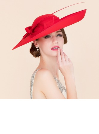Ladies ' Elegant Kambriske Bowler / Cloche Hat/Kentucky Derby Hatte