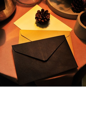 Modern Style/Fairytale Style Side Fold Envelopes