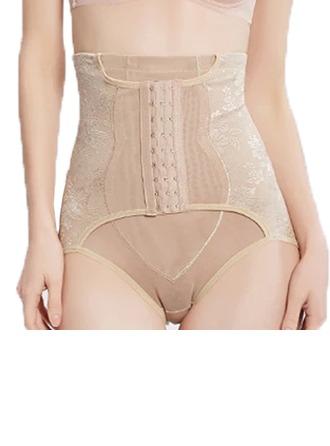 Kvinnor Feminin/Sexig/Klassisk stil polyester/Spets Midjebandspelare Shapewear