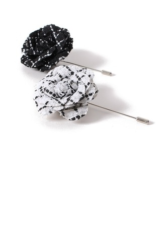 Modern linned Bomuld Boutonniere