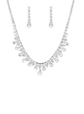 Señoras' Caliente Diamantes de imitación con Pera Sistemas de la joyería