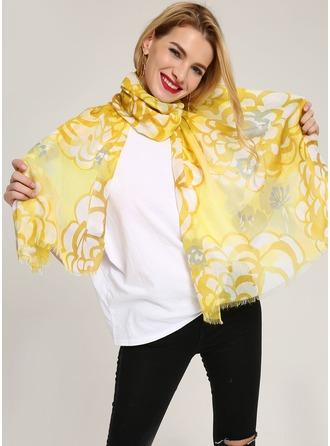Pruhované Lehká váha/nadměrné velikosti/atraktivní/jednoduchý Bavlna šály ()
