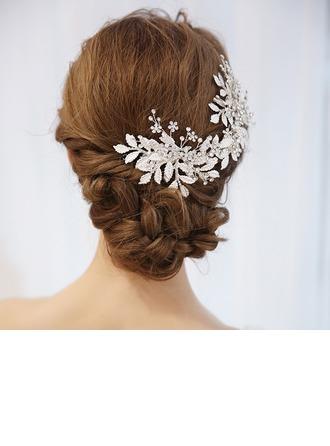 Abbigliamento donna Elegante lega Pettine & clip di capelli con Strass (Venduto in un unico pezzo)